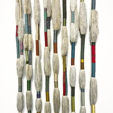 Nine Masters of Linen :: 2016 ::Sheila Hicks :: Sikkema Jenkins & C0. :: New York :: Art Basel Miami