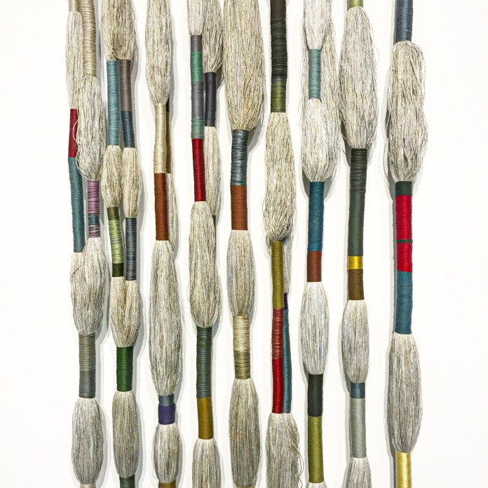 Nine Masters of Linen :: 2016 :: Sheila Hicks :: Sikkema Jenkins & C0. :: New York :: Art Basel Miami