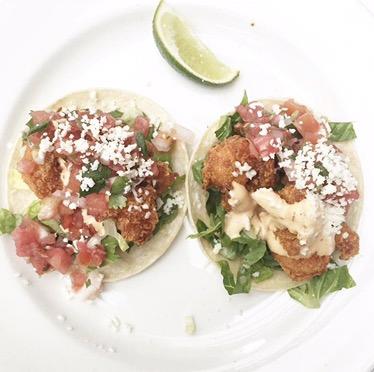 Tacos de Camarones
