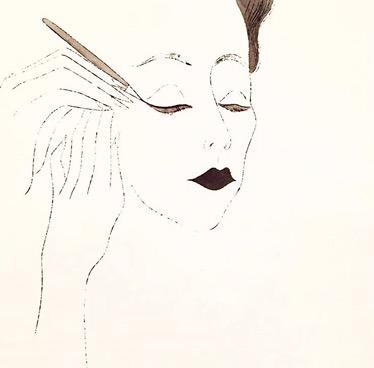 Lady putting on mascara :: Andy Warhol :: Andy Warhol Museum :: Pittsburgh :: PA