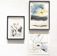 A Pen of All Works :: Raymond Pettibon :: New Museum :: New York :: NY