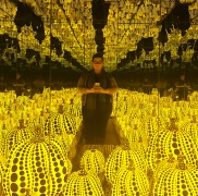 All the Eternal Love I Have for the Pumpkins :: 2016 :: Yayoi Kusama :: Yayoi Kusama: Infinity Mirrors :: Hirshhorn :: Washington :: DC