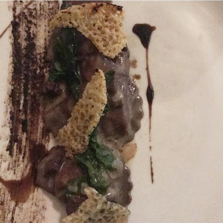 Wild Boar and Blood Sausage Ravioli :: Ambra :: Philadelphia :: PA