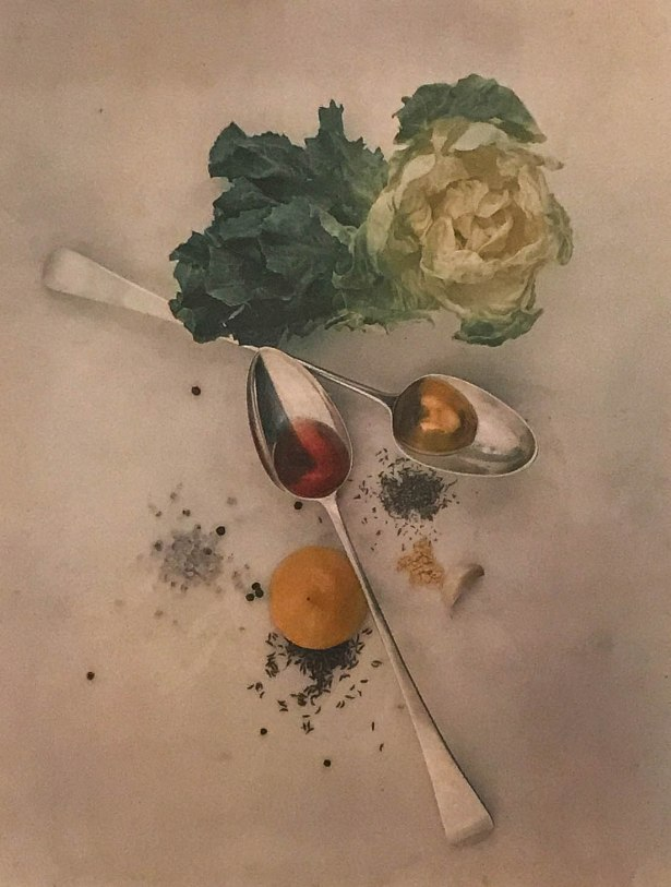 Salad Ingredients :: New York :: 1947 :: Irving Penn