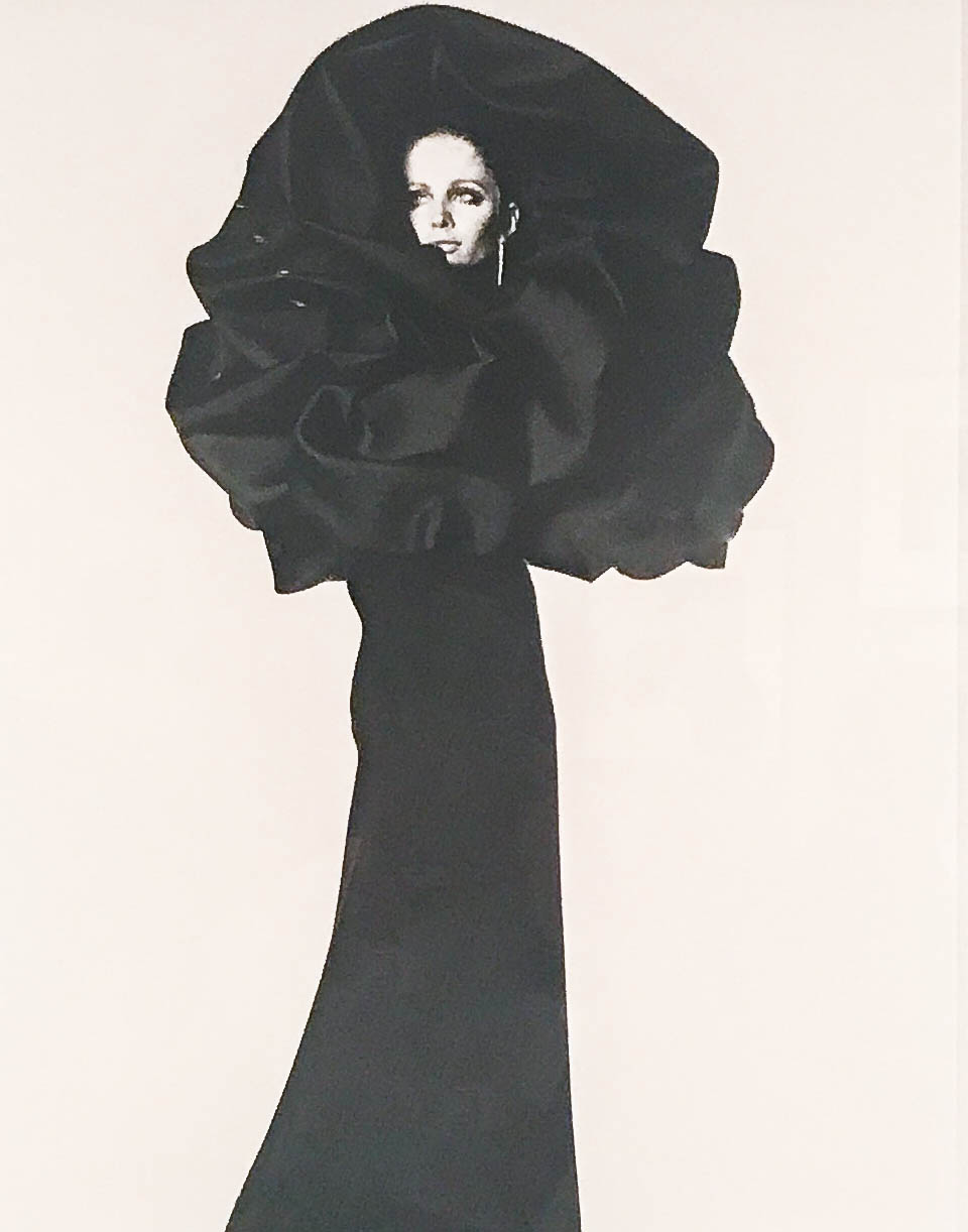 Balenciaga Rose Dress :: Paris :: 1967 :: Irving Penn