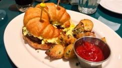 Croissant Breakfast Sandwich :: Louie Louie :: Philadelphia :: PA