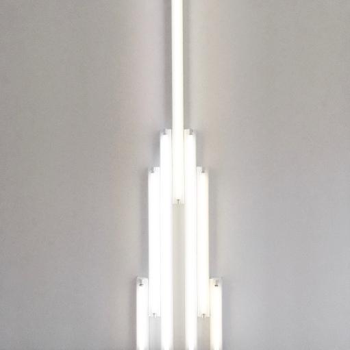 Dan Flavin :: Richmond Hall :: The Menil Collection :: Houston :: TX