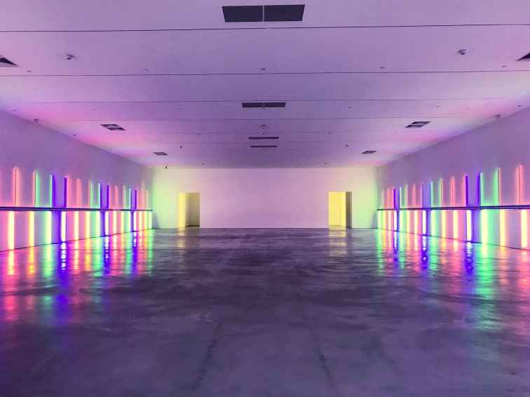 Dan Flavin :: Richmond Hall :: Menil Collection :: Houston :: TX