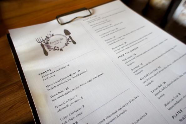 Terrain Cafe Menu :: Terrain :: Glen Mills :: PA