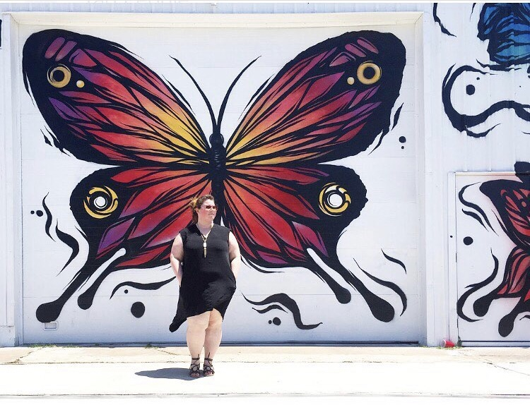 Butterflies Wall by Fabio Panone :: Downtown Houston :: Houston :: TX