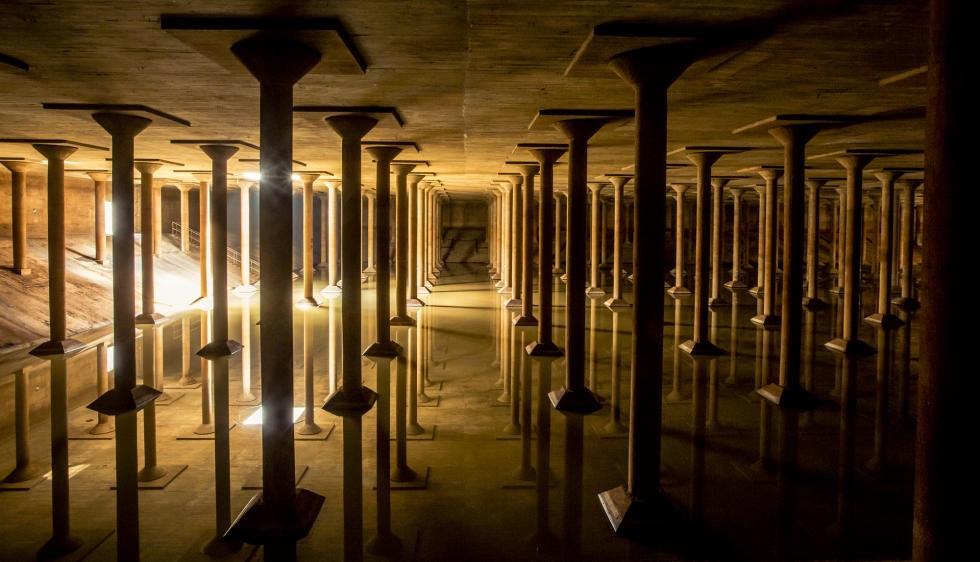 Buffalo Bayou Cistern :: Houston :: TX :: Photo Courtesy of Buffalo Bayo + Visit Houston Texas