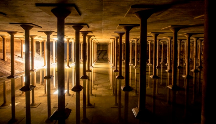 Buffalo Bayou Cistern :: Houston :: TX :: Photo Courtesy of Buffalo Bayo + Visit Houston Texas