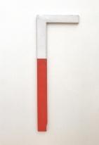 Winkel Rot-Weiss :: 1965 :: Blinky Palermo :: Dia:Beacon :: Beacon :: NY