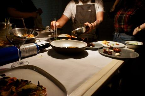 Chef David Viana Prepping :: Heirloom Kitchen :: Chef David Viana :: Old Bridge :: NJ