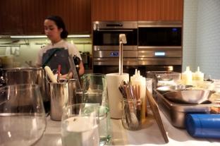 Sous Chef Kat Norat and the Open Kitchen :: Heirloom Kitchen :: Chef David Viana :: Old Bridge :: NJ